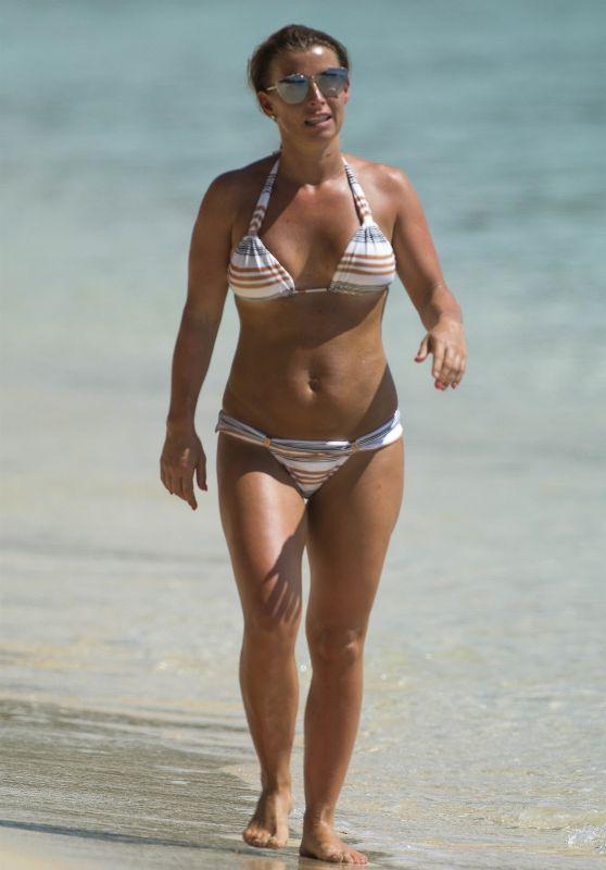 Coleen Rooney in Bikini - Vacation in Bridgetown 05/24/2018
