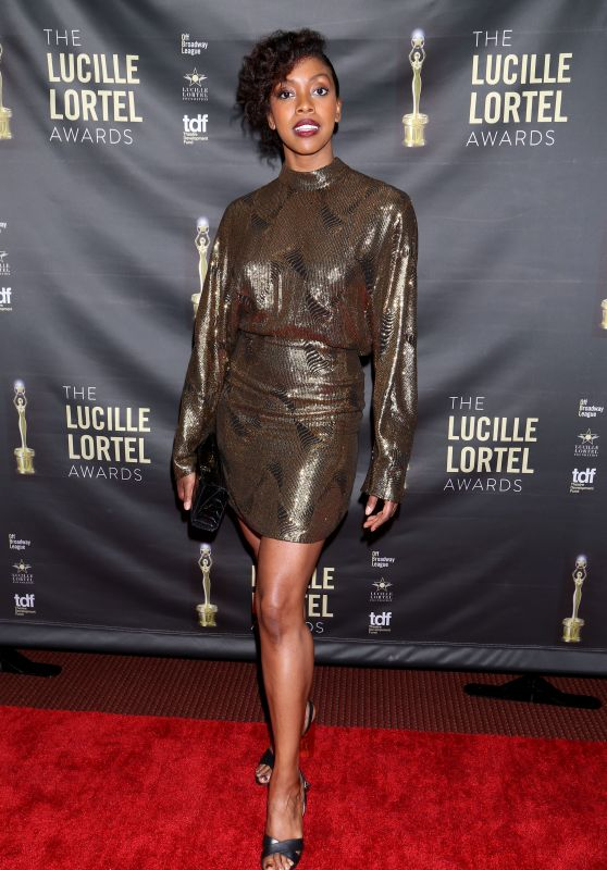 Condola Rashad – Lucille Lortel Awards in New York 05/06/2018