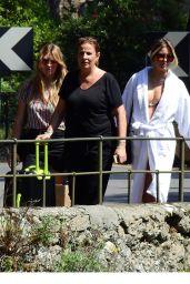 Costanza Caracciolo in Bikini - Photshoot in Paraggi 05/29/2018