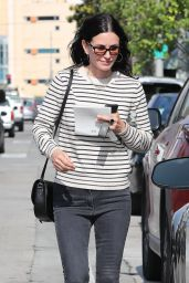 Courteney Cox - Shopping in West Hollywood 05/22/2018
