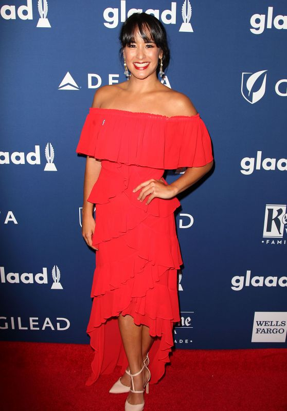 Courtney Reed – 2018 GLAAD Media Awards