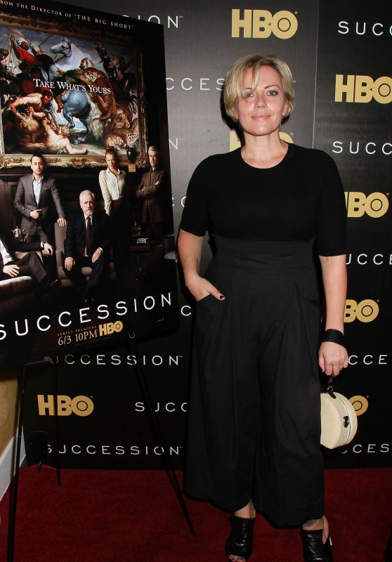 "Dagmara Domińczyk – ""Succession"" TV Show Premiere in New York"