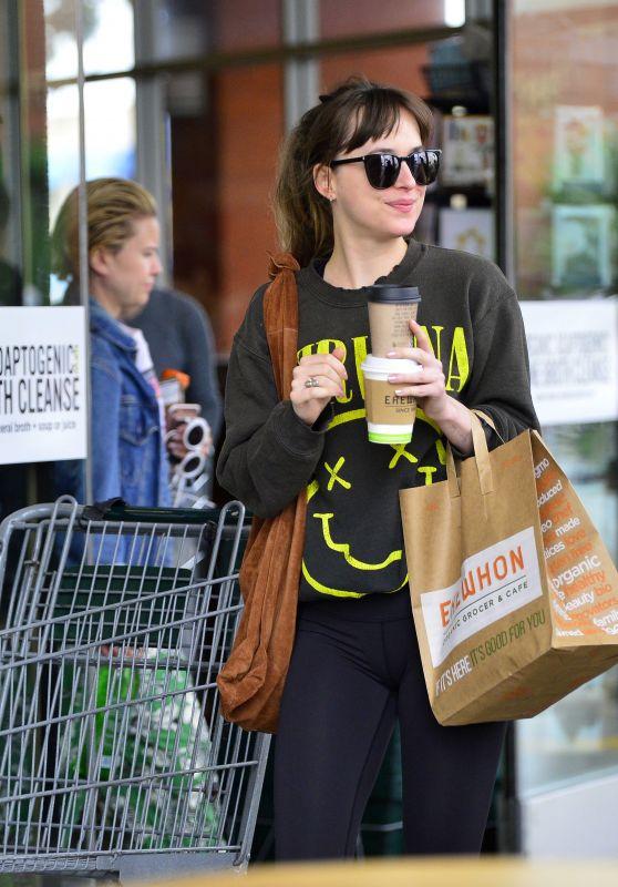 Dakota Johnson - Grocery Shopping in LA, May 2018