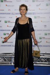 Daniela Poggi – Nastri D'Argento 2018 Blu Carpet in Rome