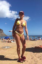 Danniella Westbrook in Bikini on the Beaches in Spain 05/04/2018