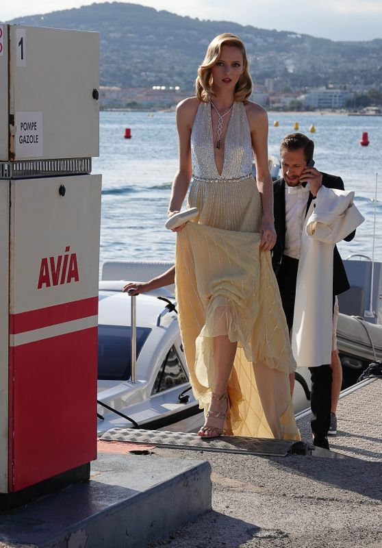 Daria Strokous - Heading to an Event at the Cannes Film Festival 05/17/2018