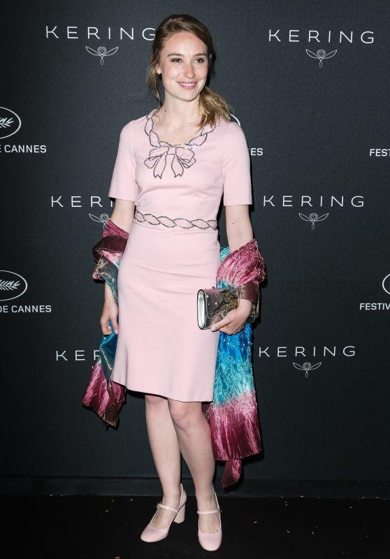 Deborah Francois – Kering Women in Motion Awards Dinner at Cannes Film Festival 2018