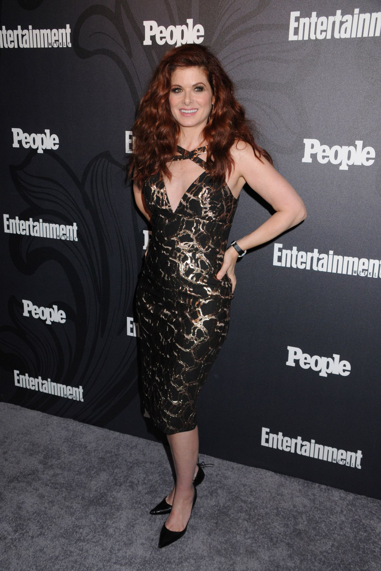 Debra Messing 2018 Ew And People Upfronts Party In New York