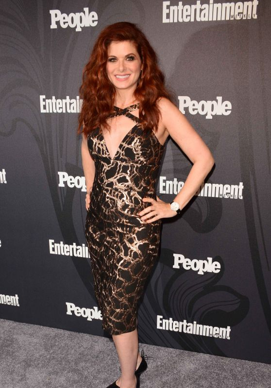 Debra Messing - 2018 EW and People Upfronts Party in New York