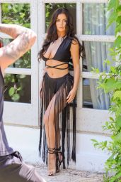 Demi Rose - ISAWITFIRST Ibiza bikini Range Photoshoot in Ibiza