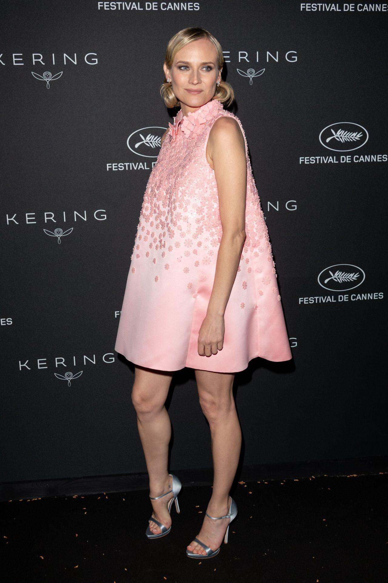 Diane Kruger Kering Women In Motion Awards Dinner At Cannes Film