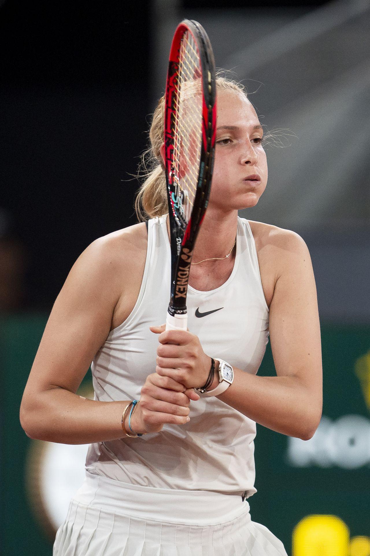 Donna Vekic Mutua Madrid Open In Madrid 05 08 2018