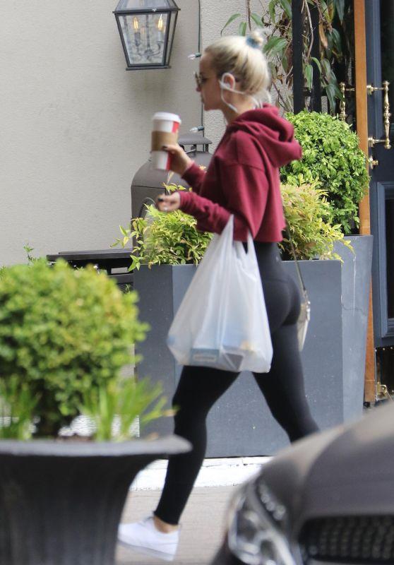 Dove Cameron Grabs a Coffee in Los Angeles 05/20/2018