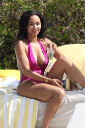 Draya Michele in Swimsuit in Miami 05/15/2018