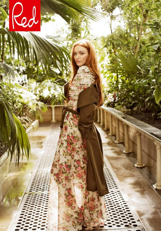 Eleanor Tomlinson - Red Magazine July 2018