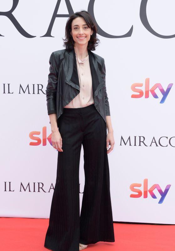 """Elena Lietti – """"Il Miracolo"""" TV Series Photocall in Rome"""