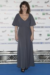 Elena Sofia Ricci – Nastri D'Argento 2018 Blu Carpet in Rome
