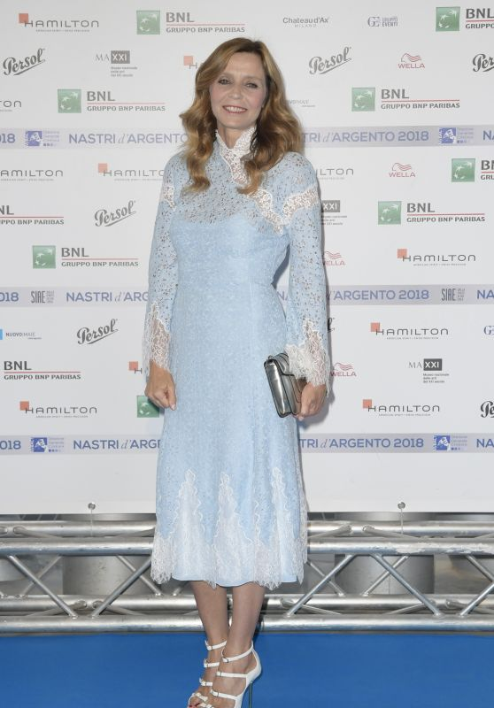 Eliana Miglio – Nastri D'Argento 2018 Blu Carpet in Rome