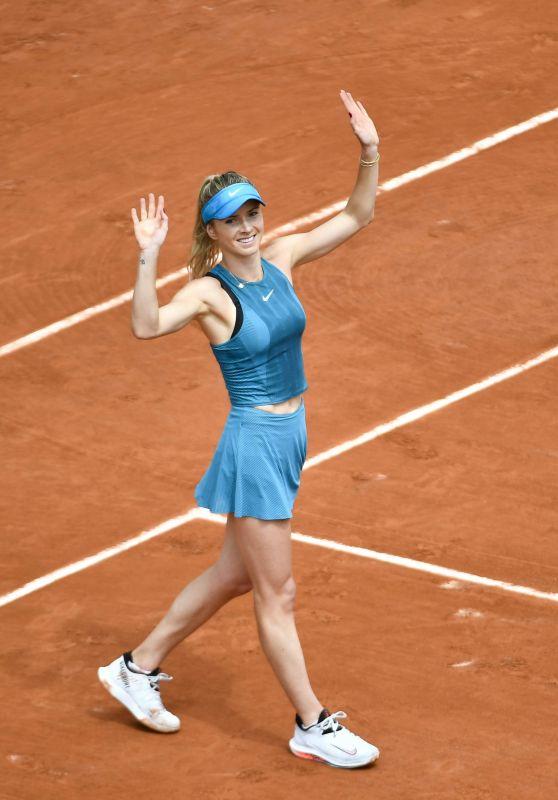 Elina Svitolina – French Open Tennis Tournament in Paris 05/30/2018