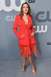 Elizabeth Gillies – CW Network Upfront Presentation in NYC 05/17/2018