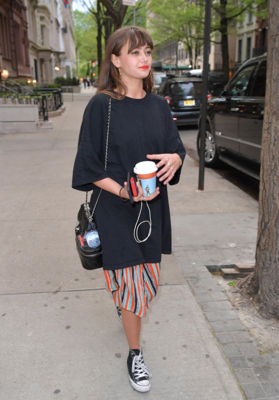 Ella Purnell - Outside of The Mark Hotel in New York City, May 2018