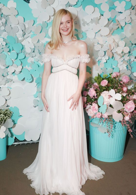 Elle Fanning – Tiffany & Co. Jewelry Collection Launch in NY 05/03/2018