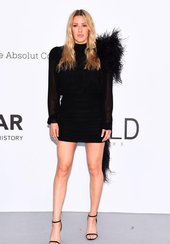 Ellie Goulding – amfAR's Cinema Against AIDS Gala in Cannes 05/17/2018