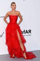 Elsa Hosk – amfAR's Cinema Against AIDS Gala in Cannes 05/17/2018