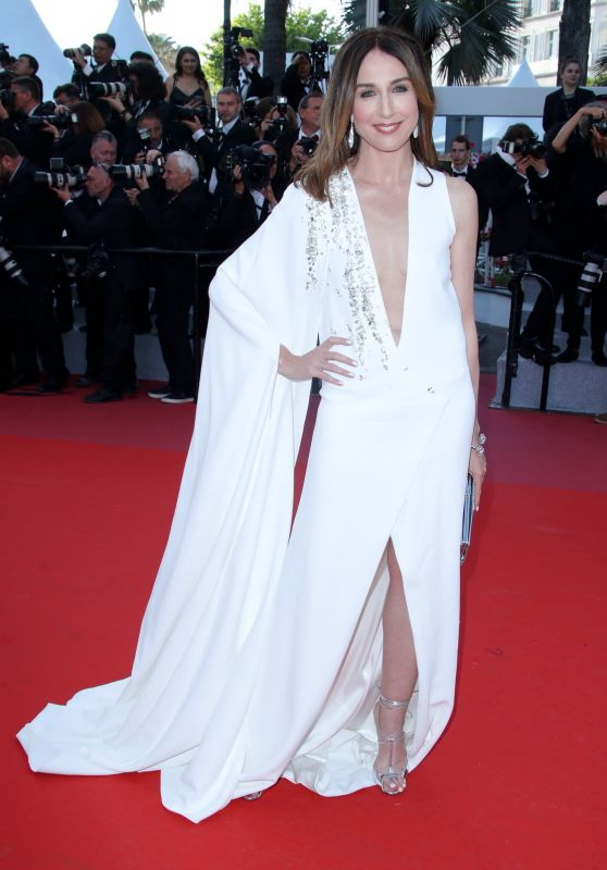 """Elsa Zylberstein – """"Ash Is The Purest White"""" Red Carpet at Cannes Film Festival 05/11/2018"""
