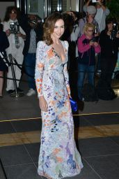 Elsa Zylberstein at the Marriott Hotel for the Dior Dinner in Cannes