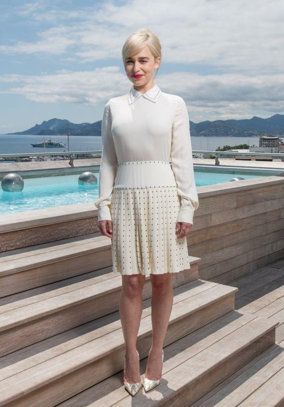 Emilia Clarke - Kering Women in Motion Photocall in Cannes