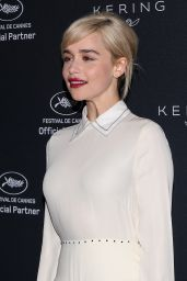 Emilia Clarke - Kering Women in Motion Photocall in Cannes