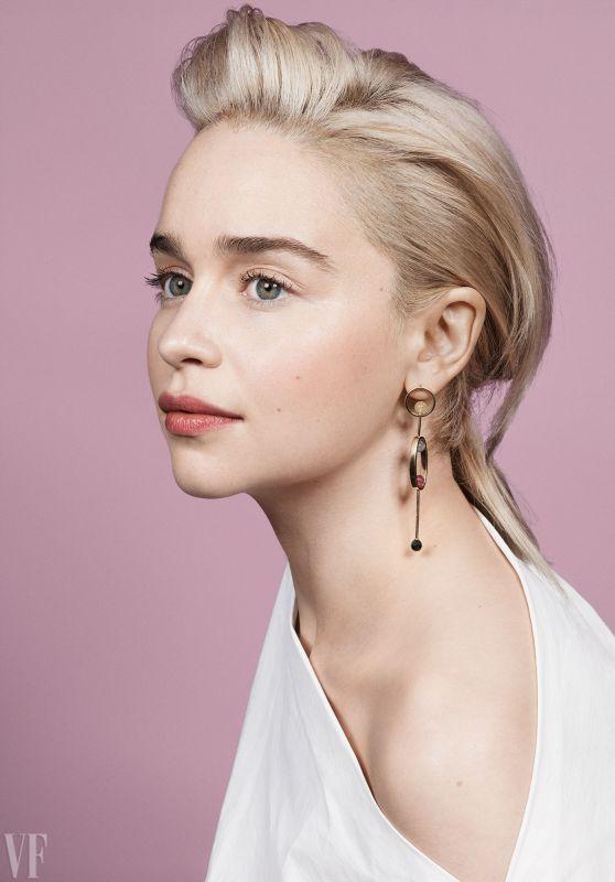 Emilia Clarke - Photoshoot for Vanity Fair 2018