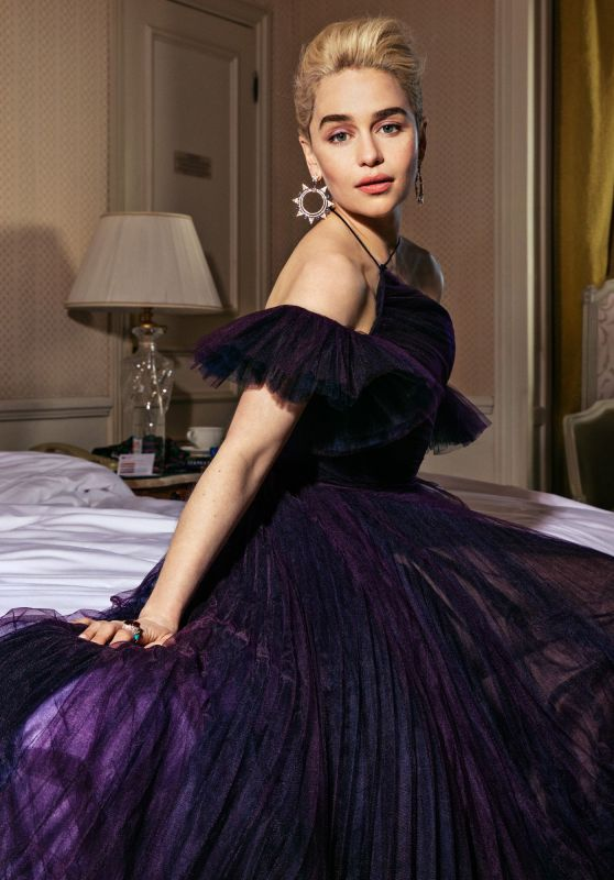 Emilia Clarke - Photoshoot for Vanity Fair at the 71st annual Cannes Film Festival