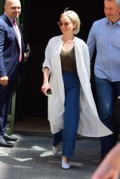 """Emilia Clarke - Promoting """"Solo: A Star Wars Story"""" in NY 05/23/2018"""