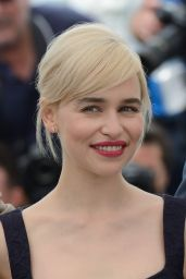"Emilia Clarke - ""Solo: A Star Wars Story"" Photocall in Cannes"