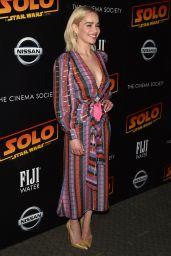 "Emilia Clarke - ""Solo: A Star Wars Story"" Premiere in New York 05/21/2018"
