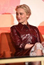 """Emilia Clarke - """"Solo: A Star Wars Story"""" Press Conference in LA"""