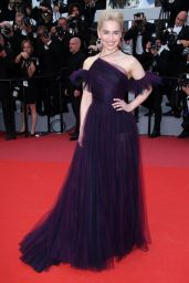 """Emilia Clarke - """"Solo: A Star Wars Story"""" Red Carpet in Cannes"""