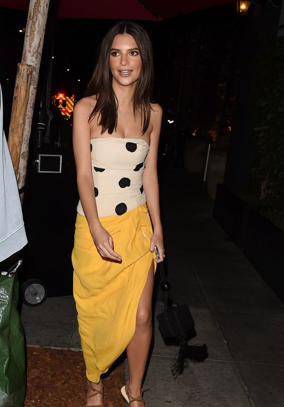 "Emily Ratajkowski - Leaving the ""In Darkness"" After Party in LA"