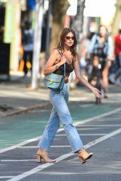 Emily Ratajkowski Street Style - New York City 05/09/2018