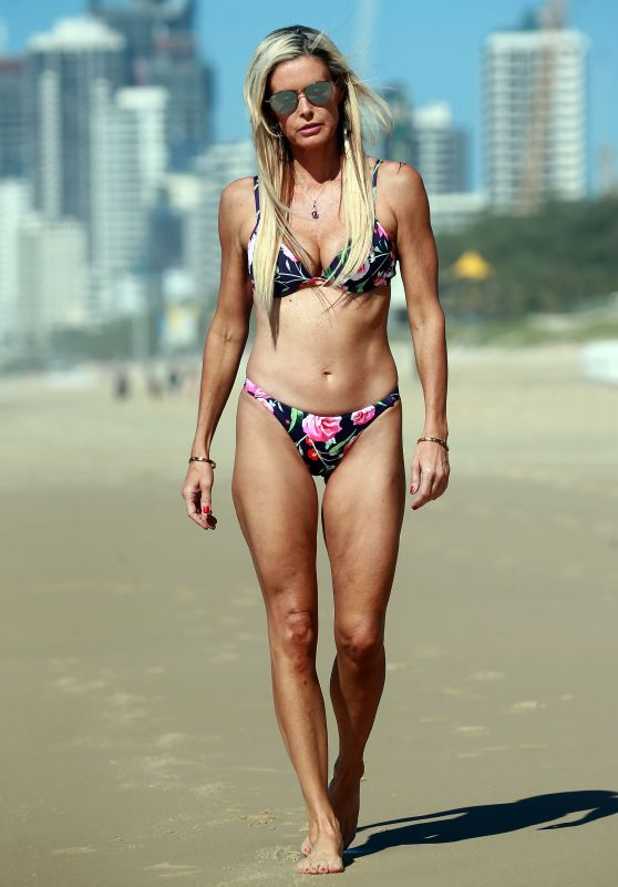 Emma Harrison in Bikini on Gold Coast , May 2018