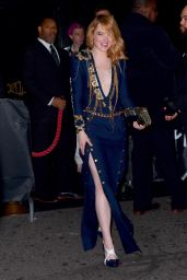 Emma Stone - Leaving MET Gala 2018 After Party in NYC