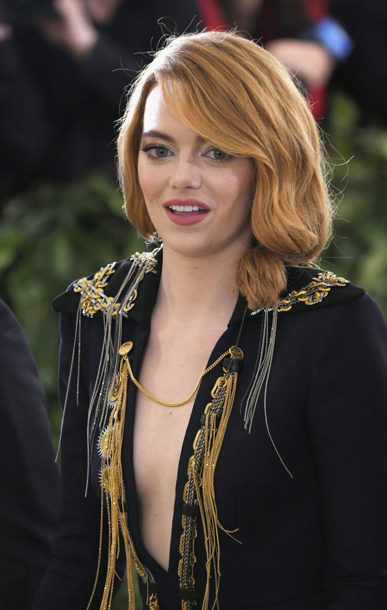 Emma Stone – MET Gala 2018 Emma