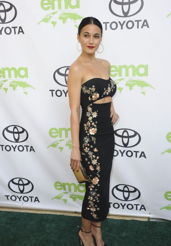 Emmanuelle Chriqui – 2018 Environmental Media Awards in Beverly Hills