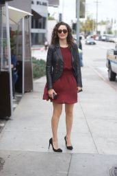 Emmy Rossum at Zinque in West Hollywood 04/30/2018