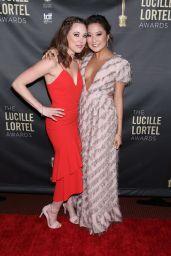 Erika Henningsen and Ashley Park – Lucille Lortel Awards in New York 05/06/2018