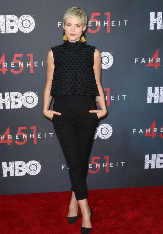 """Erin Richards – """"Fahrenheit 451"""" Premiere in NYC"""