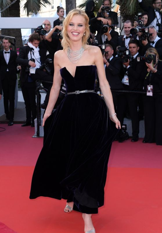 "Eva Herzigova - ""Ash Is The Purest White"" Red Carpet at Cannes Film Festival 05/11/2018"
