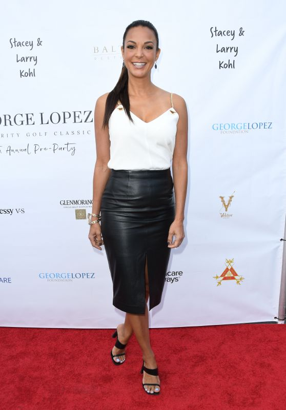 Eva LaRue – George Lopez Golf Classic Pre-Party in Brentwood 05/06/2018